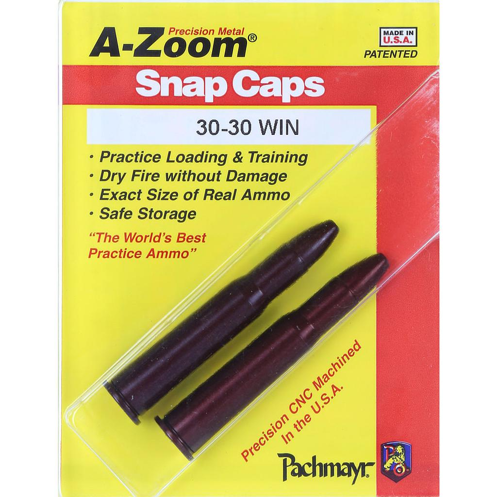 A-Zoom Snap Cap 30-30 Win (2pk)