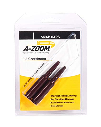 A-Zoom 6.5 Creedmoor Snap Caps 2 pack