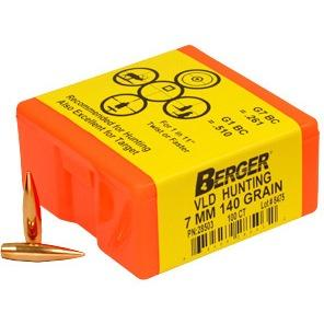 Berger 7mm 140g Vld Hun 28503