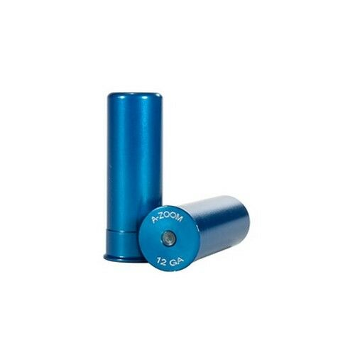 A-Zoom Snap Cap 12ga 5pk BLUE